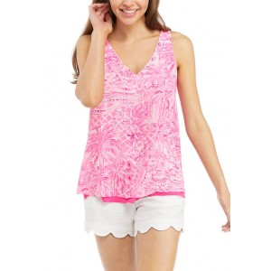 Lilly Pulitzer®  Women's Printed Reversible V-Neck Tank