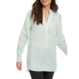 THE LIMITED Women's Oversized Linen Tunic Top