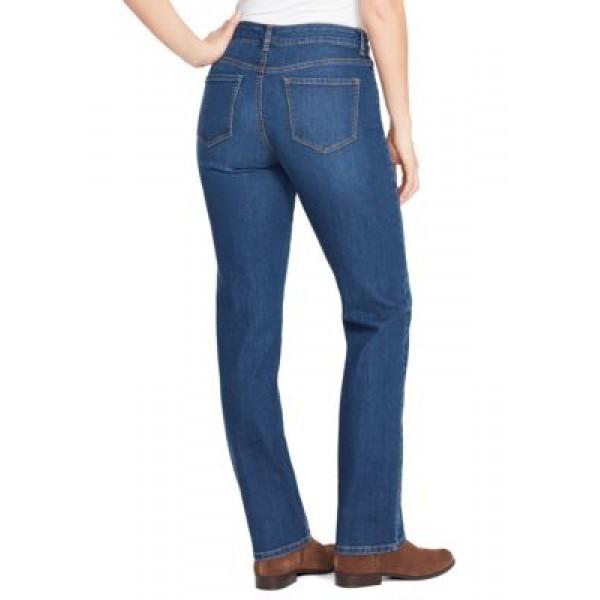 Bandolino Mandie Denim Straight Leg Jeans