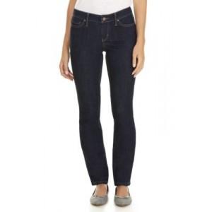 Crown & Ivy™ Short Straight Leg Jeans