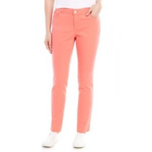 Crown & Ivy™ Women's Classic 5-Pocket Colored Denim Regular Jeans