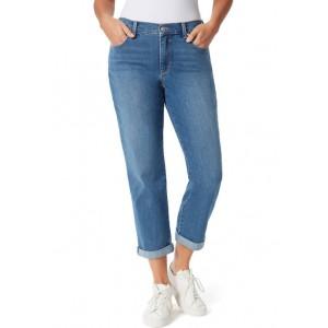 Gloria Vanderbilt Women's Mid Rise Boyfriend Jeans