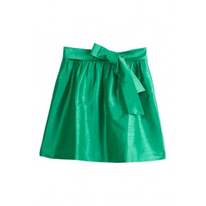 Crown & Ivy™ Women's Skirt with Bow Accent