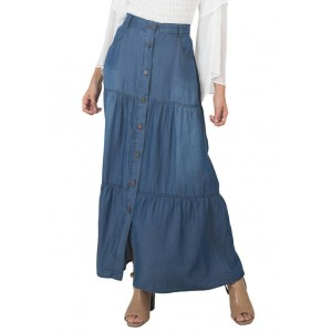 Standards and Practices Women's 3 Tier Maxi Skirt