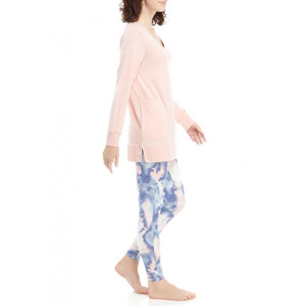 New Directions® 2-Piece Tunic and Legging Pajama Set