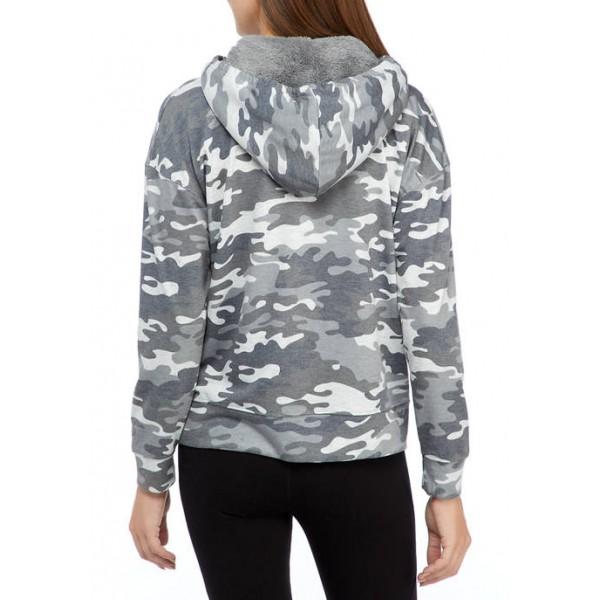New Directions® Studio Women's Long Sleeve Hoodie