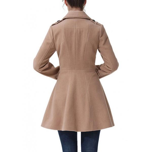 Kimi & Kai Women's Karina Wool Pea Coat
