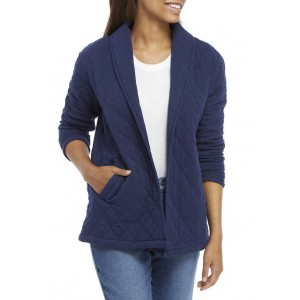 New Directions® Women's Quilted Washed Jacket