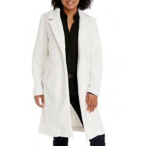 THE LIMITED Women's Long Teddy Coat