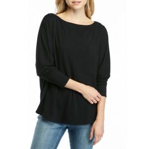 Crown & Ivy™ Women's Dolman Sleeve T-Shirt