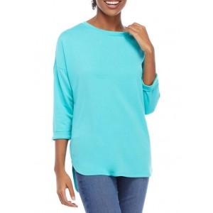 Crown & Ivy™ Women's Roll Sleeve Shirt