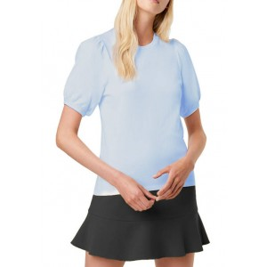 French Connection Jersey Puff Sleeve T-Shirt