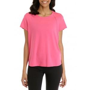 ZELOS Short Sleeve Seaming T-Shirt