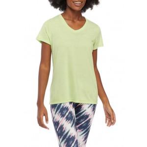 ZELOS Short Sleeve V-Neck T-Shirt
