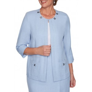 Alfred Dunner Women's French Bistro Jacket