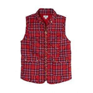 Crown & Ivy™ Women's Printed Sleeveless Puffer Vest