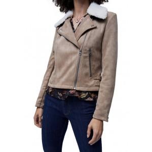 French Connection Amanranta Faux Shearling Jacket