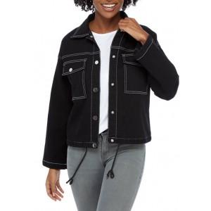 Ruby Rd Women's In The Limelight Denim Jacket