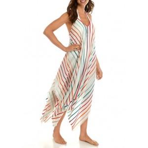Accessory Street Rainbow Cover Up Dress