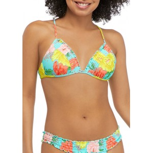 Cabana by Crown & Ivy™ Petal Party Molded Swim Top