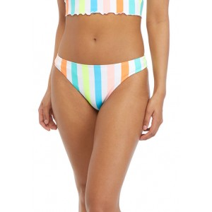 Cabana by Crown & Ivy™ Striped Hipster Swim Bottoms
