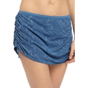 New Directions® Shadow Leaf Swim Skirt
