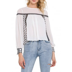 Endless Rose Women's Embroidered Top