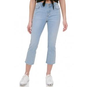 DKNY Men's Foundation Slim Straight Cropped Jeans