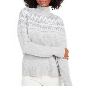 Vineyard Vines Women's Fairisle Turtleneck Sweater