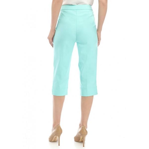 Alfred Dunner Women's Allure Capri Pants