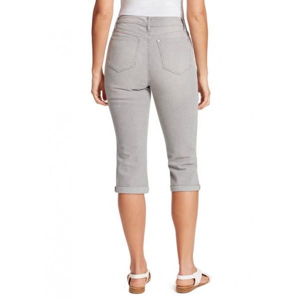 Gloria Vanderbilt Women's Rail Straight Capri Pants