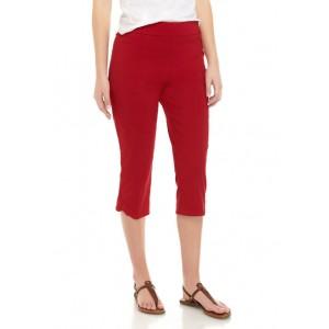 Kim Rogers® Women's Millennium Capri Pants with Crochet Hem