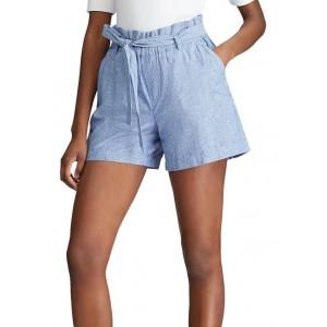 Chaps Women's Paper Bag Waist Shorts