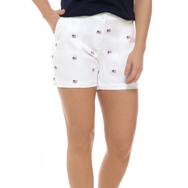 Crown & Ivy™ 5 Inch Embellished Shorts