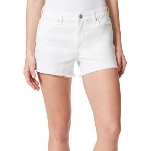 Frayed Women's High Rise Denim Shorts