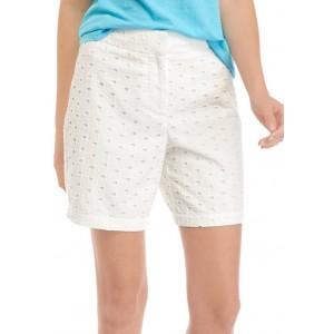 Kim Rogers® Women's Eyelet Shorts