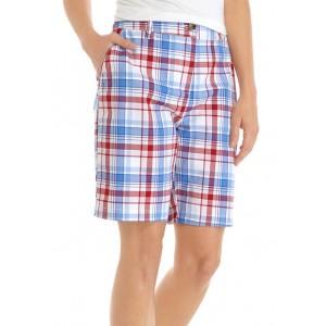 Kim Rogers® Women's Yarn Dye Twill Shorts