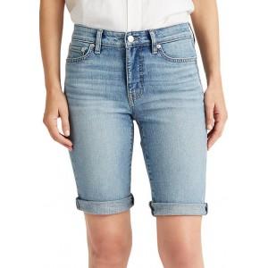 Lauren Ralph Lauren  Stretch Cotton-Blend Short