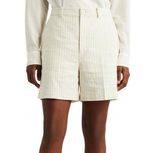 Lauren Ralph Lauren Women's Striped Linen Twill Shorts