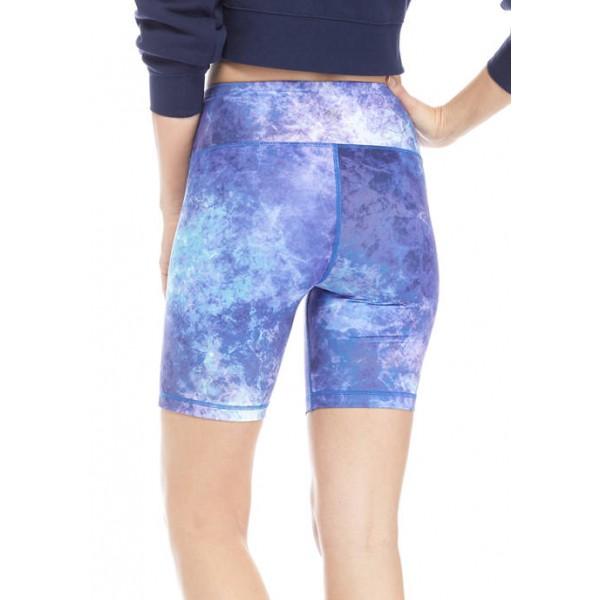 ZELOS Printed Bike Shorts