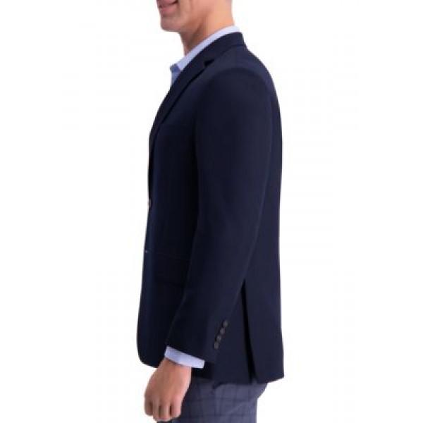 Haggar® Solid Gab Active Series Tailored Fit Blazer