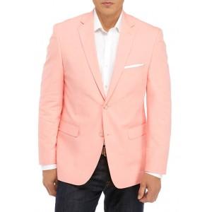 Saddlebred® Peach Chambray Sport Coat