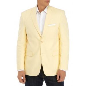 Saddlebred® Yellow Chambray Sport Coat
