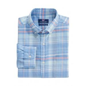 Vineyard Vines Men's Classic Fit Plaid Island Shirt