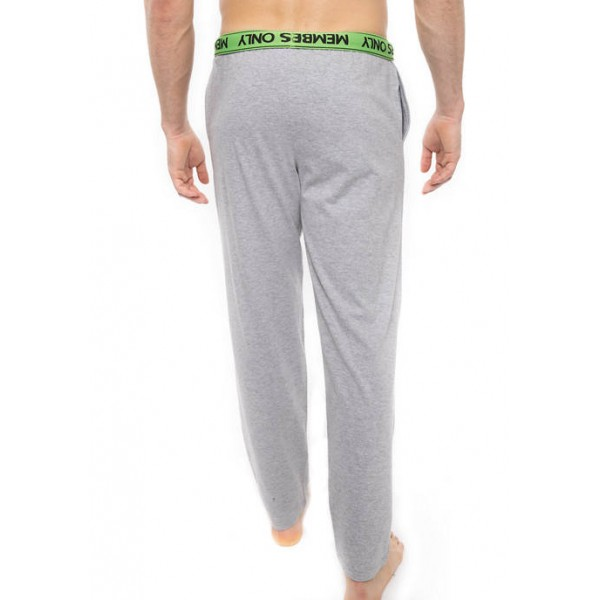 Members Only Knit Lounge Pants with Logo