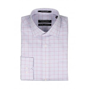 Forsyth of Canada Blue Textured Check Button Down Shirt