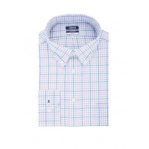 IZOD Regular Fit Check Print Dress Shirt
