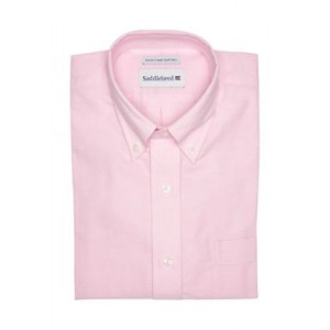 Saddlebred® Solid Oxford Button-Down Dress Shirt