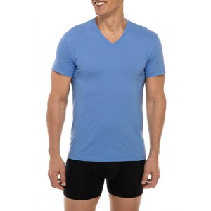 Chaps V-Neck T-Shirt - Set of 4