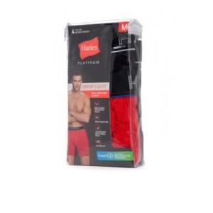 Hanes® Platinum Comfort Flex Fit® Tagless® Boxer Brief 4 Pack